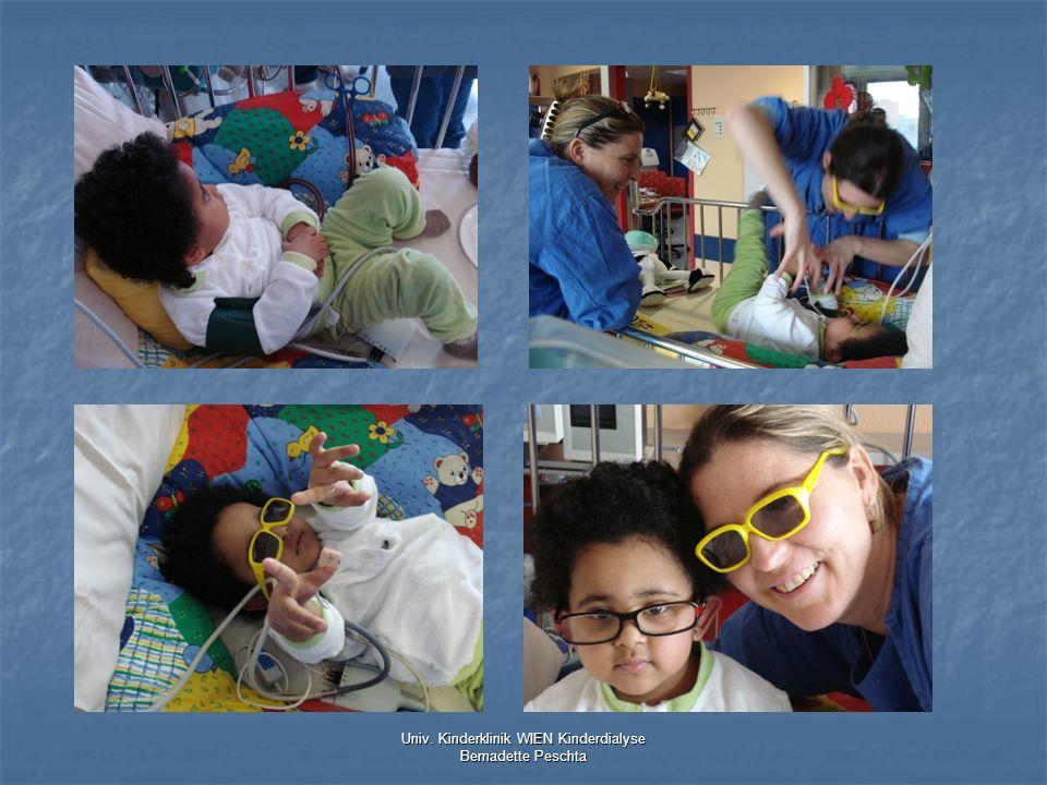 Univ. Kinderklinik WIEN Kinderdialyse Bernadette Peschta