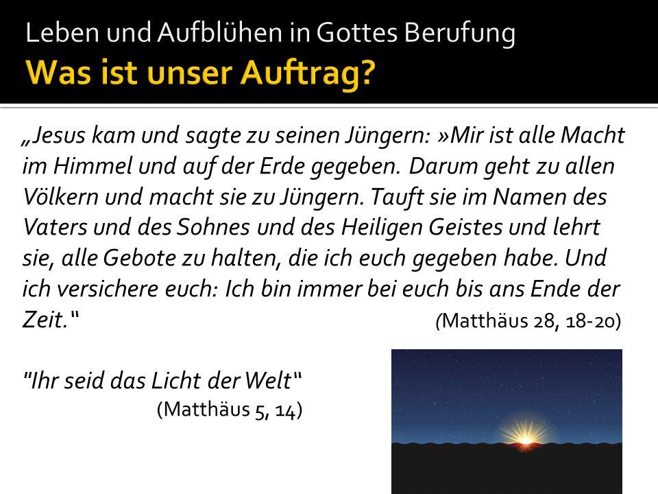 Bild: www.kuendigs.ch Minderwertigkeit Doch Mose protestierte erneut: »Aber sie werden mir nicht glauben und nicht auf mich hören....