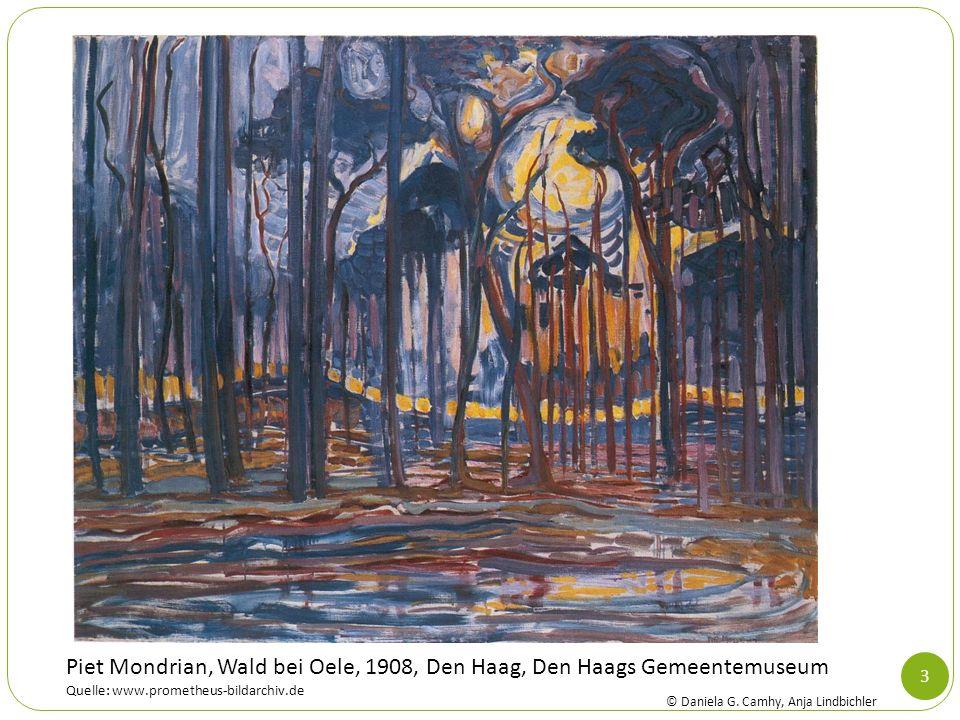 3 Piet Mondrian, Wald bei Oele, 1908, Den Haag, Den Haags Gemeentemuseum Quelle: www.prometheus-bildarchiv.de © Daniela G. Camhy, Anja Lindbichler