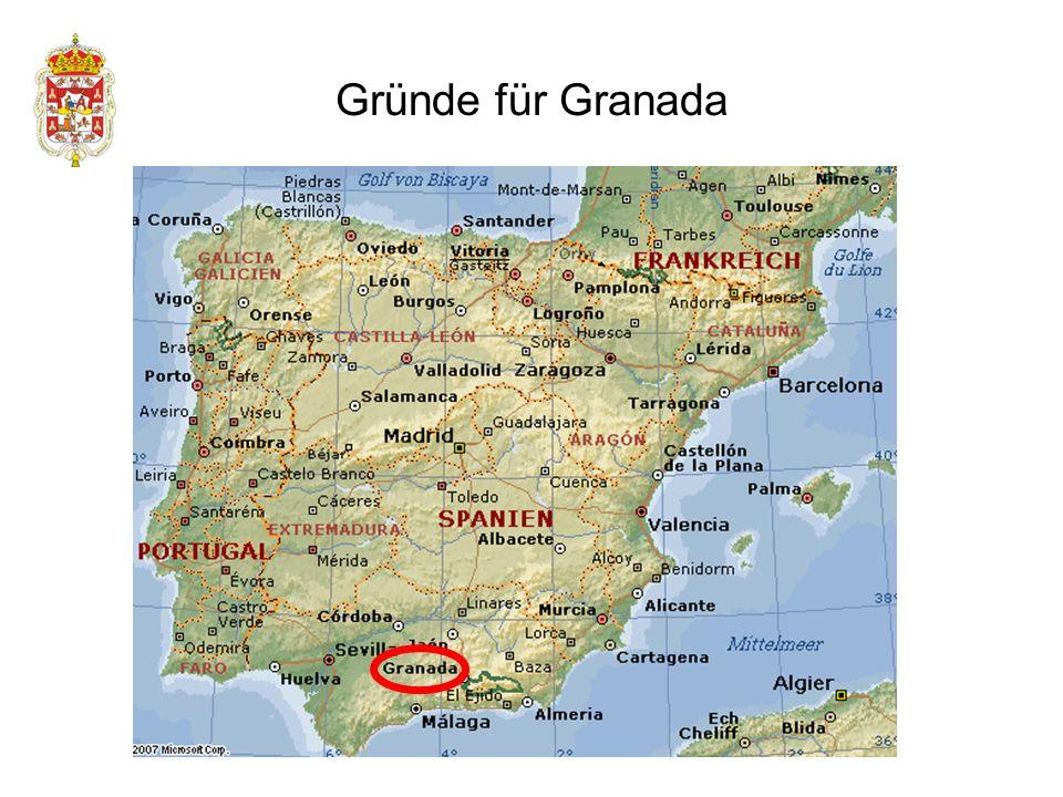 Gründe für Granada