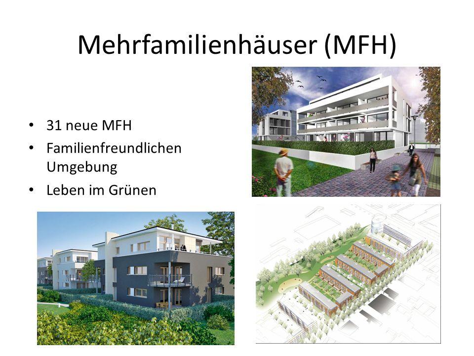 Mehrfamilienhäuser (MFH) 31 neue MFH Familienfreundlichen Umgebung Leben im Grünen