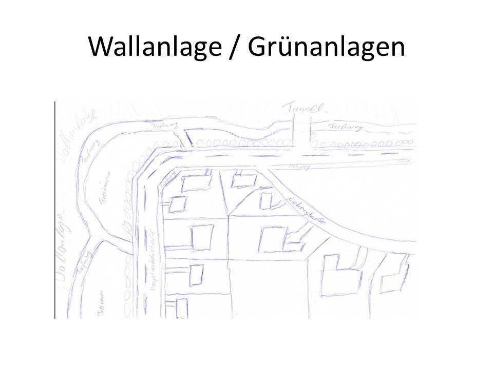 Wallanlage / Grünanlagen