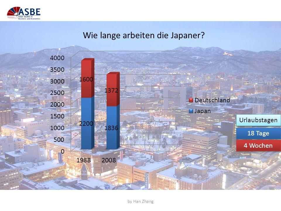 Wie lange arbeiten die Japaner? 18 Tage 4 Wochen Urlaubstagen by Han Zhang