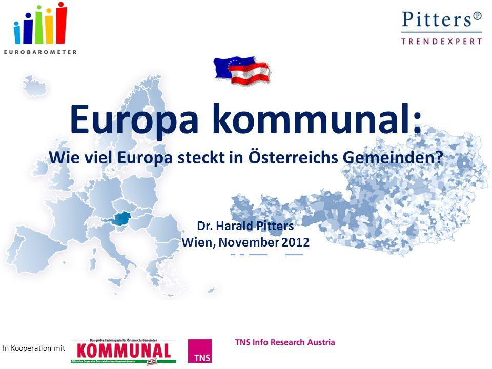 Europa kommunal: Wie viel Europa steckt in Österreichs Gemeinden.