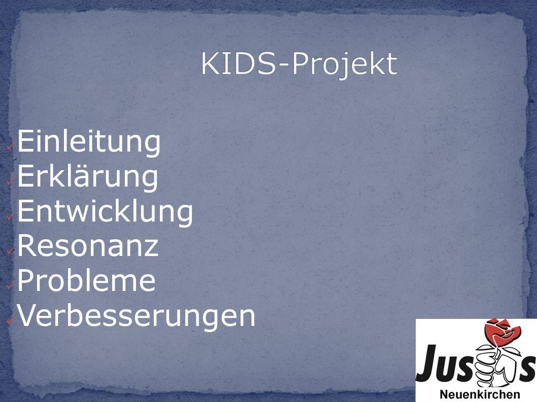 Ins Leben gerufen 2001 in Osnabrück Mit dem Ziel Jugendliche an die Kommunalpolitik zu führen In Neuenkirchen gibt es das Projekt seit 4 Jahren