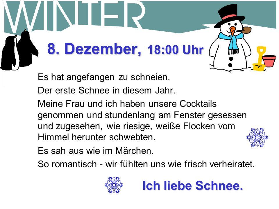 20.Dezember, 16:30 Uhr Wollte eine Schneefräse im Baumarkt kaufen.