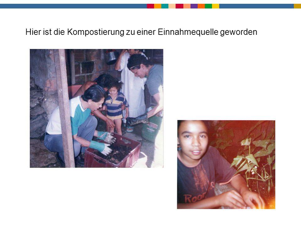 Kompostierung3 Hier ist die Kompostierung zu einer Einnahmequelle geworden
