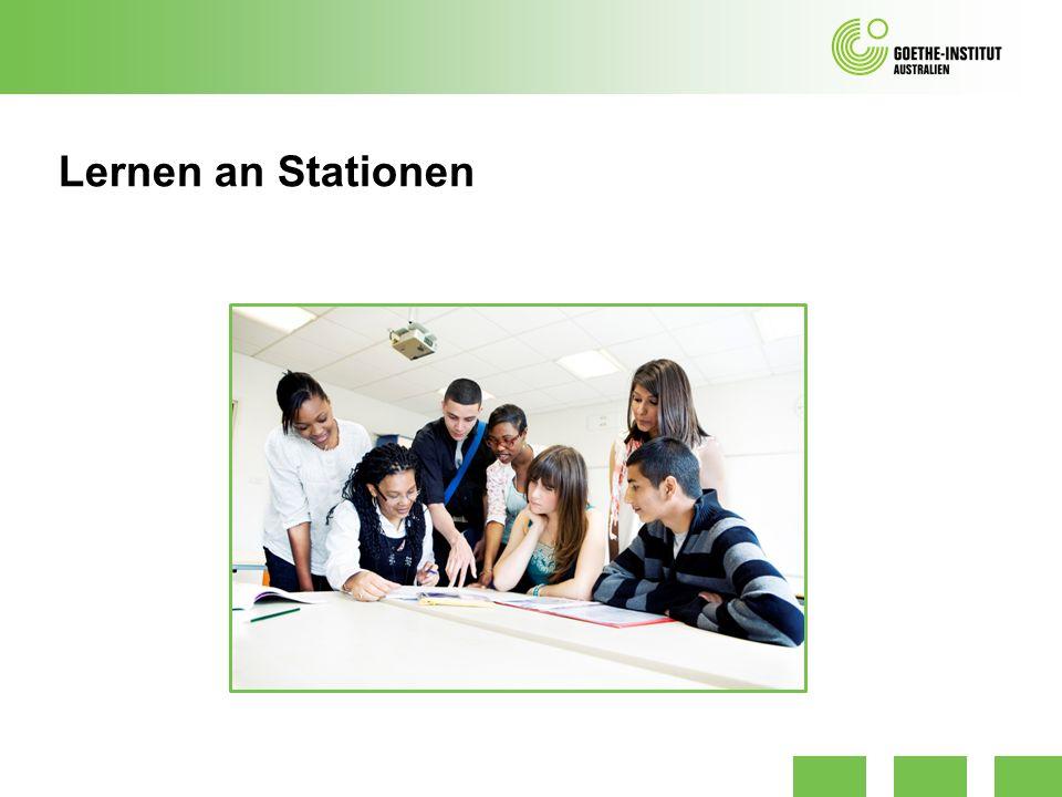 Lernen an Stationen Stationstypen Wahlstation, Pflichtstation, DoppelzirkelAußenstationParallelstationenPufferstationKontrollstationServicestation