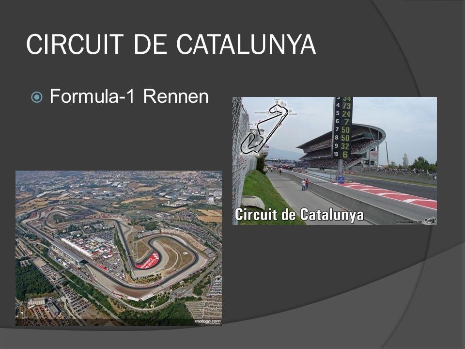 CIRCUIT DE CATALUNYA Formula-1 Rennen