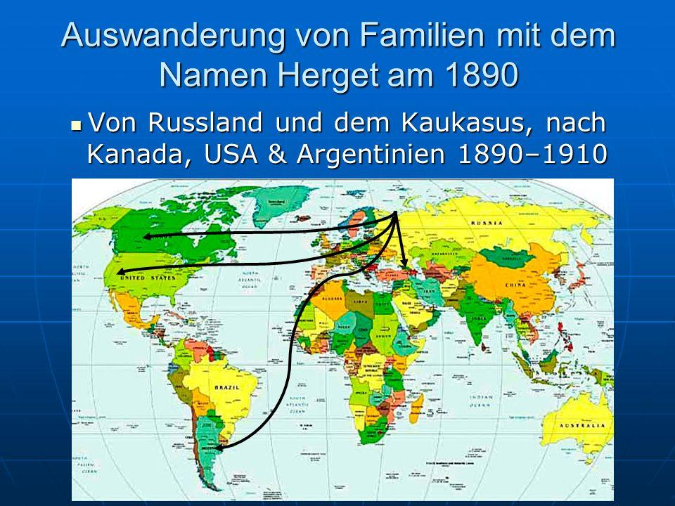 Auswanderung von Familien mit Namen Herget am 1840 Von Deutschland nach Amerika 1830–1880 Von Deutschland nach Amerika 1830–1880