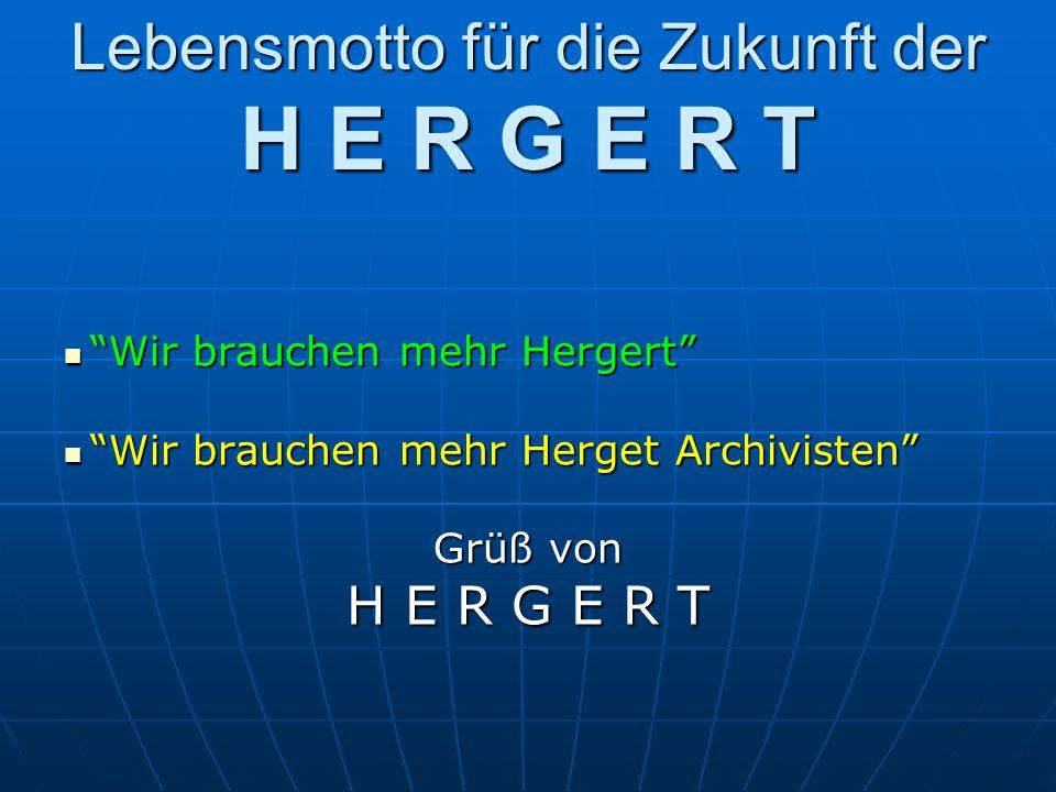 Die Veränderung des Namen Herget Im 17.Jahrh.