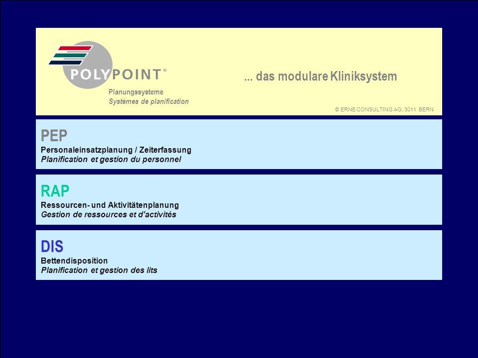 POLYPOINT bisher Termdispo Patienten suchen bzw.