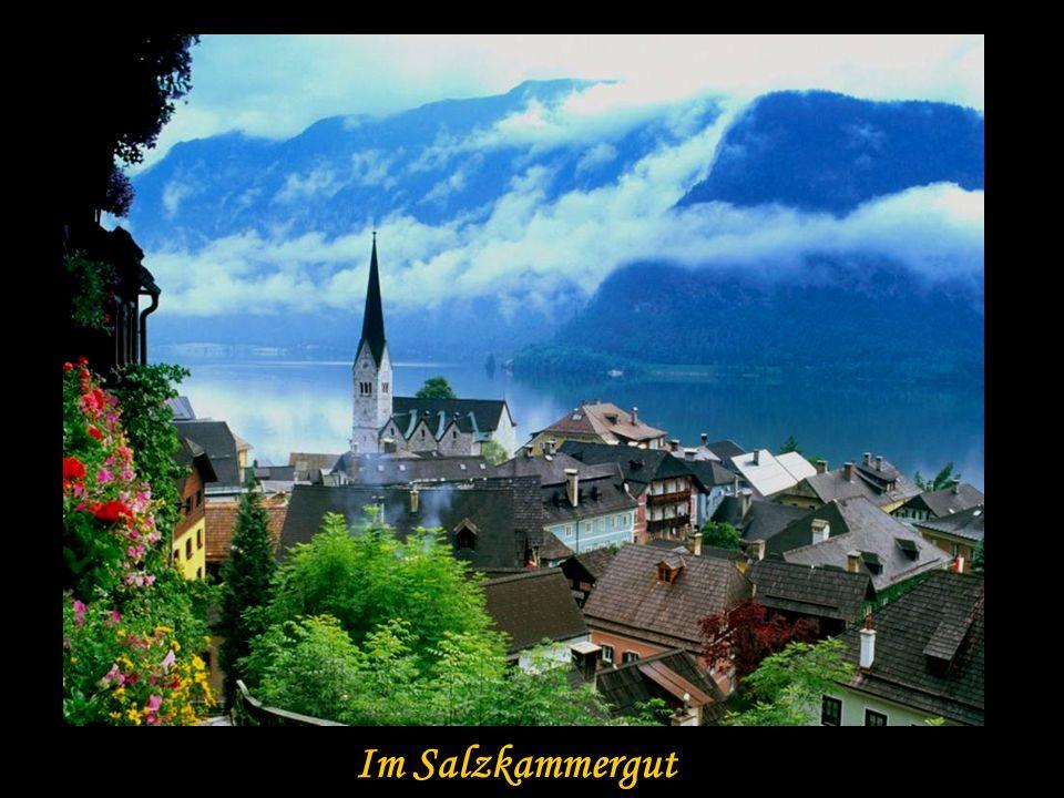 Romantisches Winterdorf