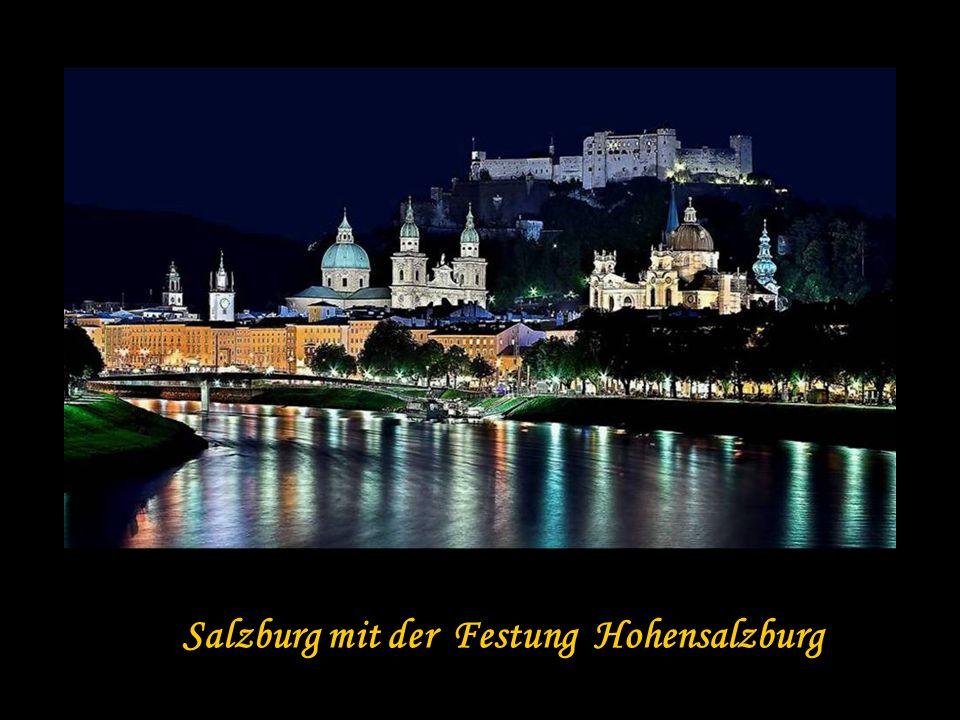 Salzburg mit der Festung Hohensalzburg