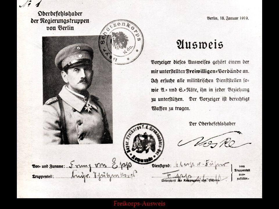 Reichsstatthalter Franz Ritter von Epp