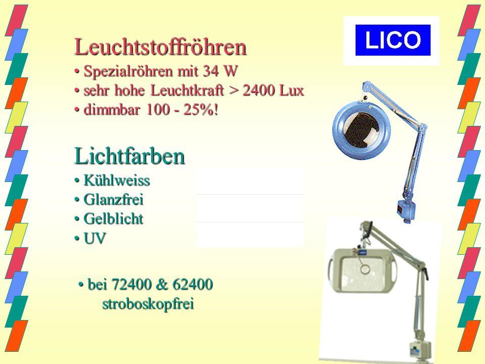 BIG EYE Art.Nr. 52400 Trafo Art.Nr. 62400 Elektronik 3 oder 4 Dioptrien (MIL) 3 oder 4 Dioptrien (MIL) ergonomische Linsen für ergonomische Linsen für