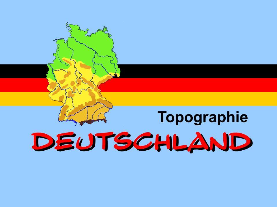 Topographie DEUTSCHLAND