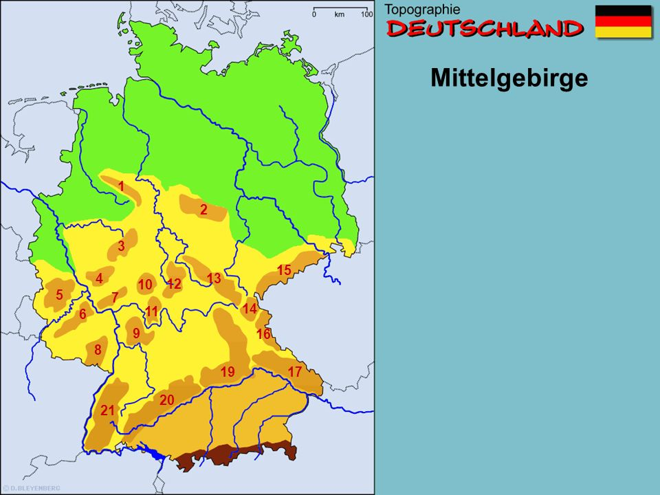 Mittelgebirge 1 2 3 6 7 10 11 13 16 1719 21 Wo liegt dieses Gebirge.