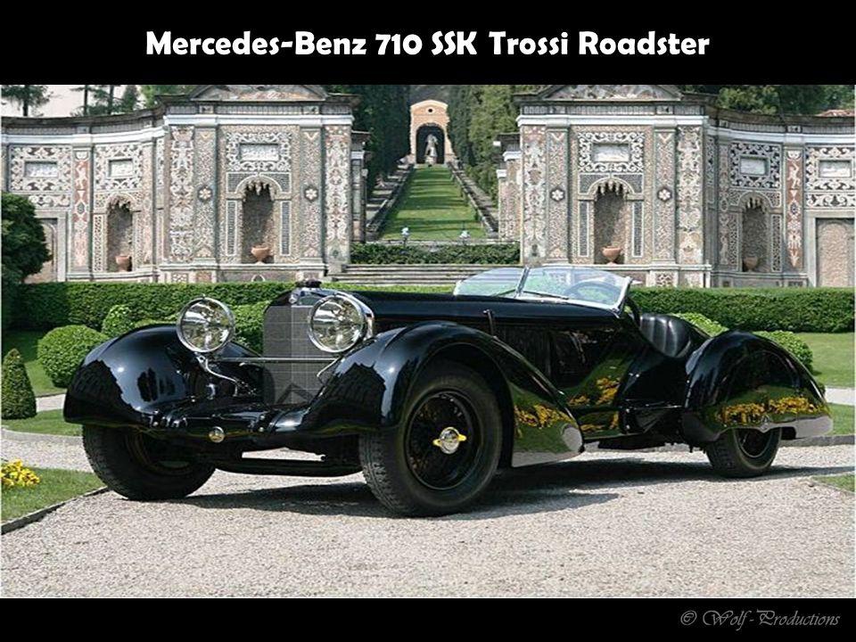 5 Stück wurden von 1938 - 1946 gebaut V 12 Motor - 4,5 Liter
