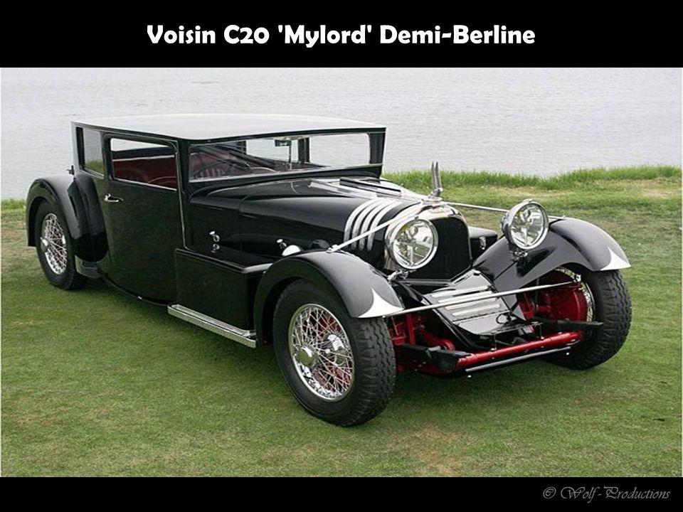 1 Stück in Belgien in den 30ern gebaut, 6 Zylinder - 7,7 Liter