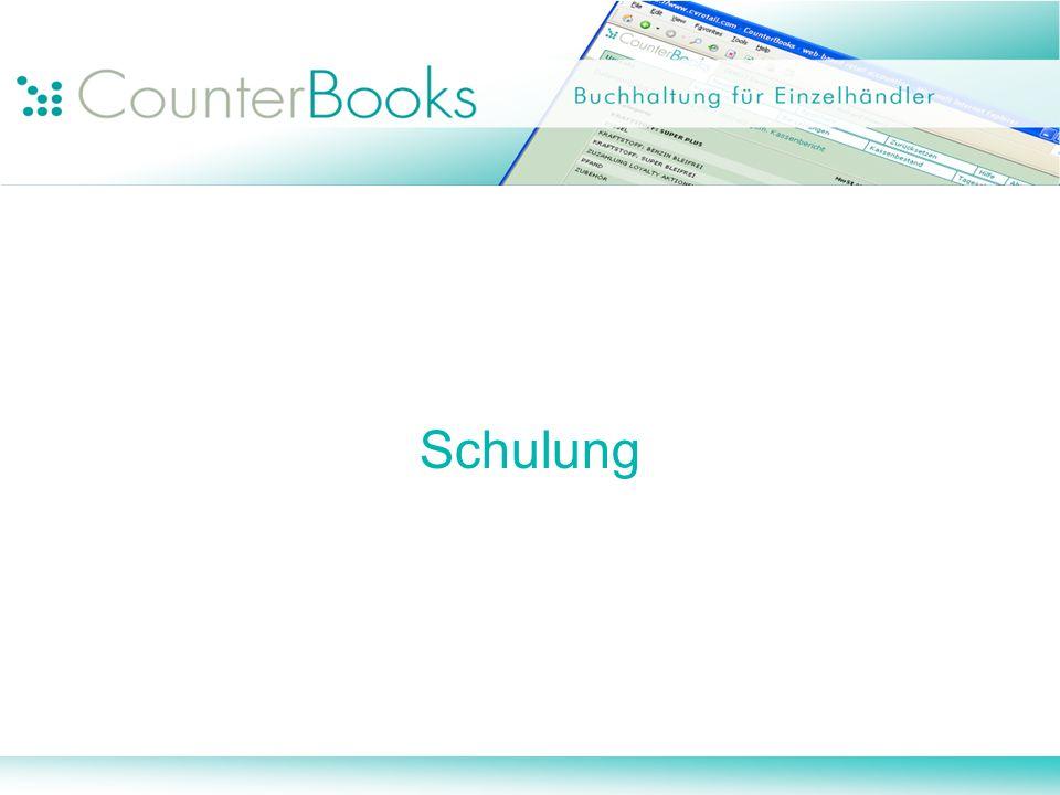 Vorteile CounterBooks