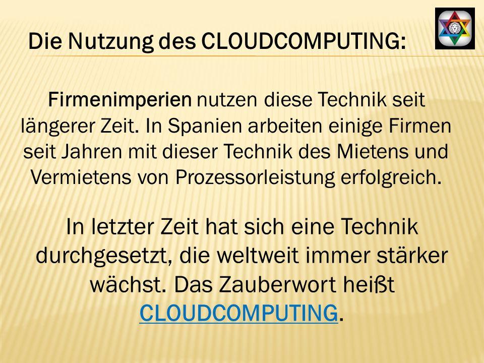 Dabei werden Computerresourcen mittels Software zusammengefasst, sodass enorme Rechenleistung flexibel verfügbar ist.