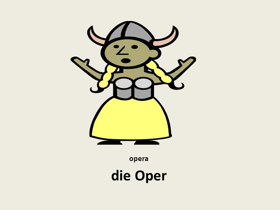 opera die Oper