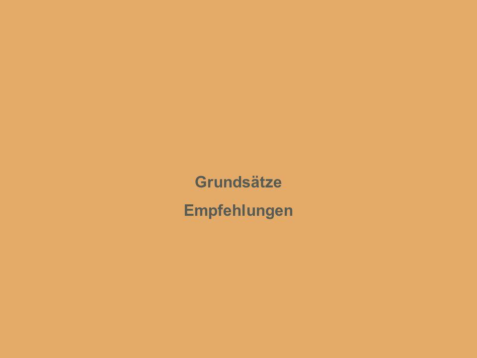 www.intergest.com International Management and Business Administration Grundsätze Empfehlungen