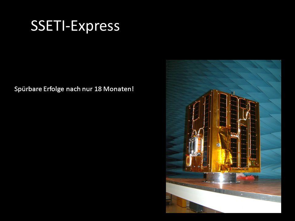SSETI-Express Spürbare Erfolge nach nur 18 Monaten!