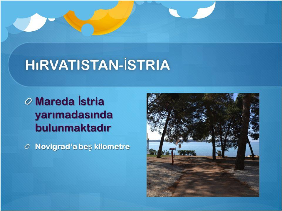 HıRVATISTAN- İ STRIAHıRVATISTAN- İ STRIA Mareda İ stria yarımadasında bulunmaktadır Novigrada be ş kilometre