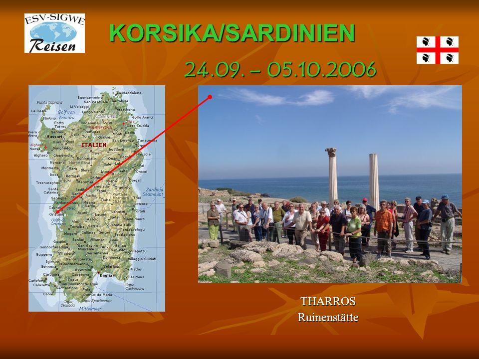 KORSIKA/SARDINIEN THARROSRuinenstätte