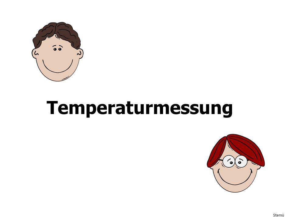 Stemü Temperaturmessung