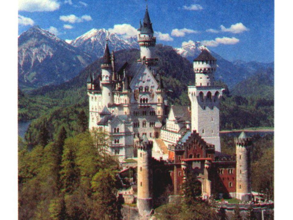 Da oben. Entschuldigung, wo ist das Schloss? Danke schön!