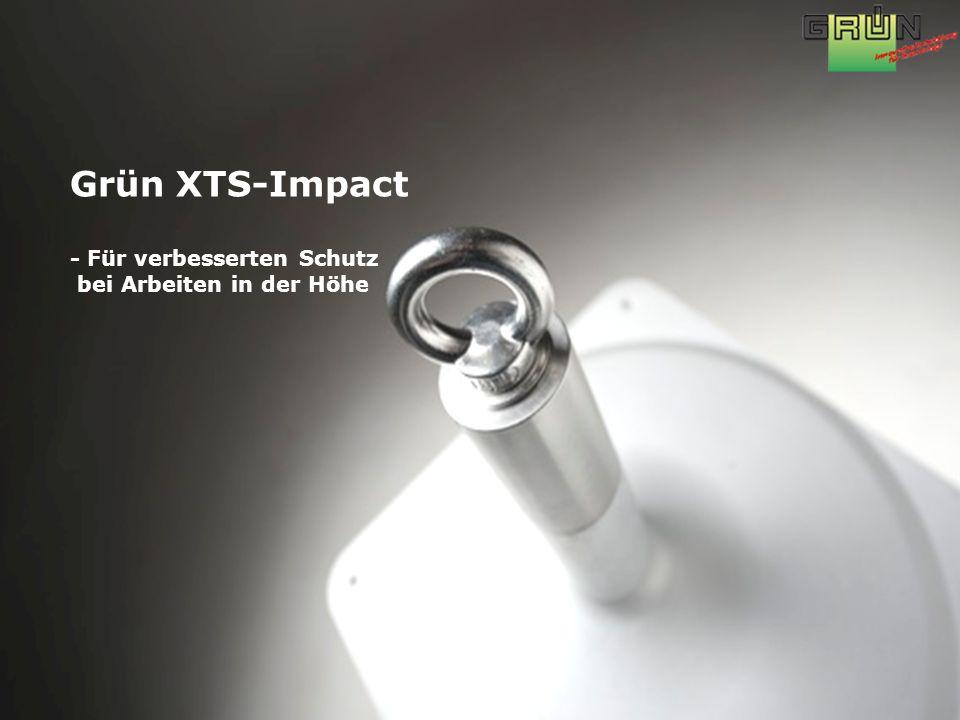 Grün XTS-Impact - Für verbesserten Schutz bei Arbeiten in der Höhe