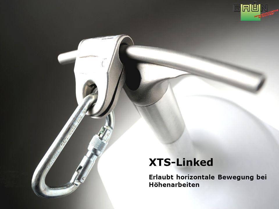 XTS-Linked Erlaubt horizontale Bewegung bei Höhenarbeiten