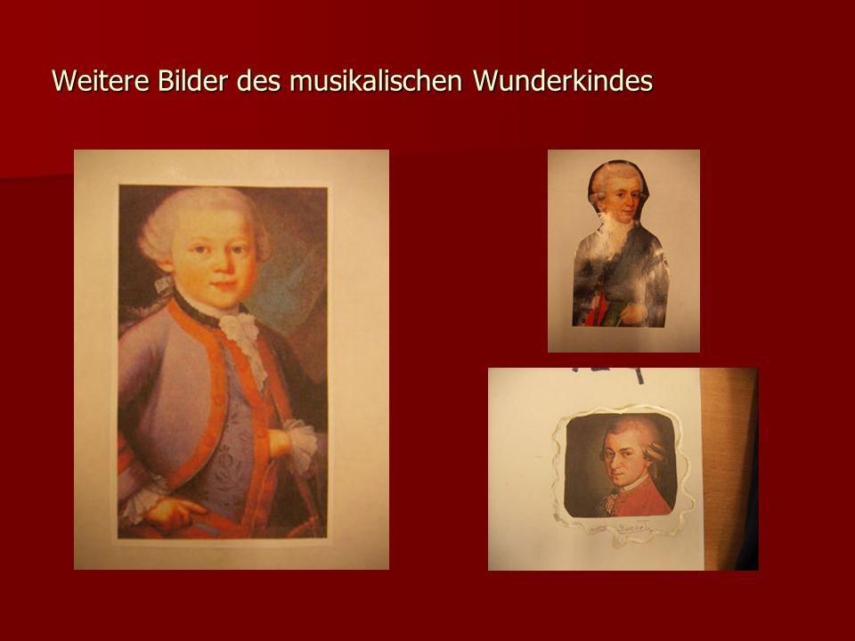 Weitere Bilder des musikalischen Wunderkindes