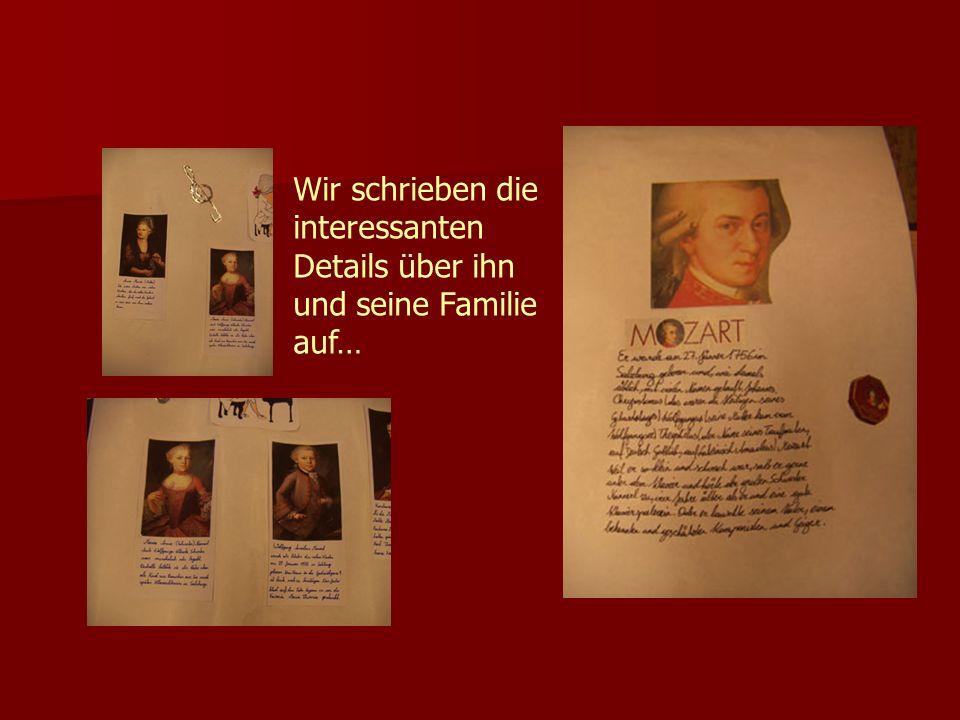 Wir schrieben die interessanten Details über ihn und seine Familie auf…