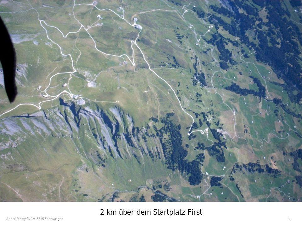 1 André Stämpfli, CH-5615 Fahrwangen 2 km über dem Startplatz First