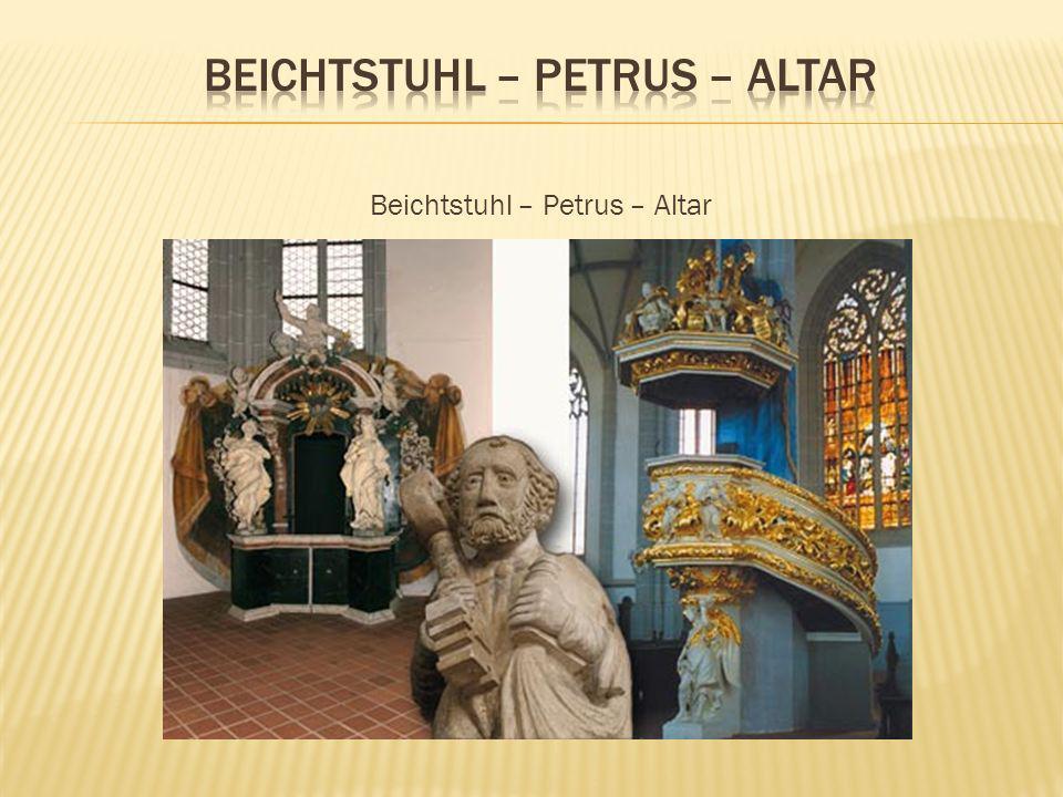 Die Orgel entstand im Zusammenhang mit der Neubeschaffung des Inventars nach dem Brand der Kirche im Jahr 1691.