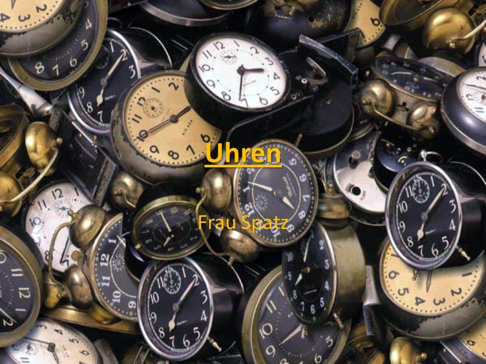 Uhren Frau Spatz