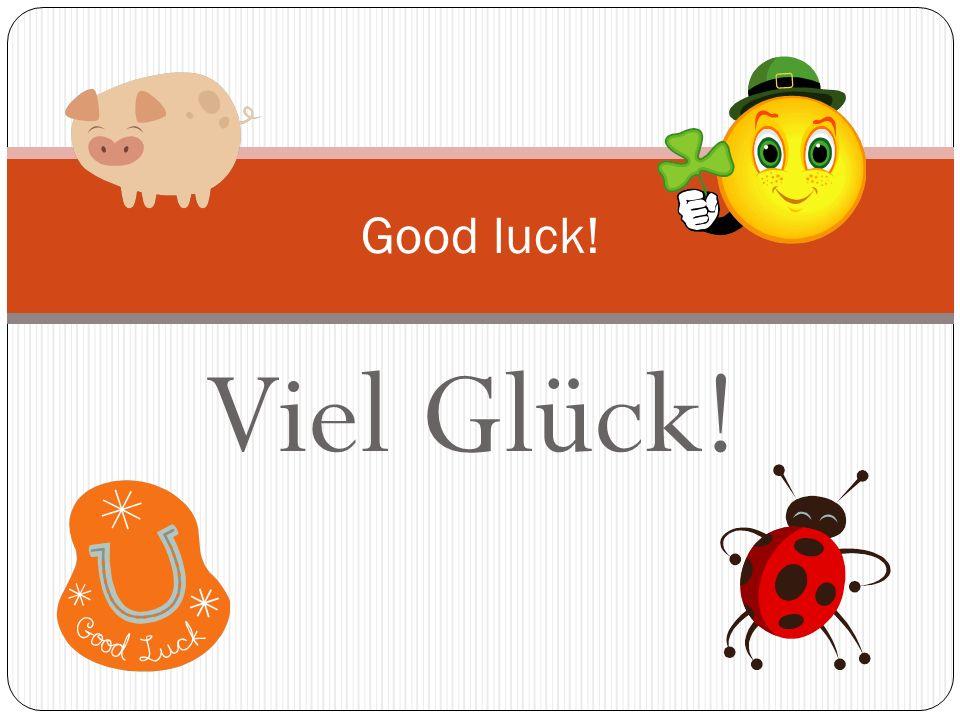 Herzliche Glückwünsche! Best wishes!