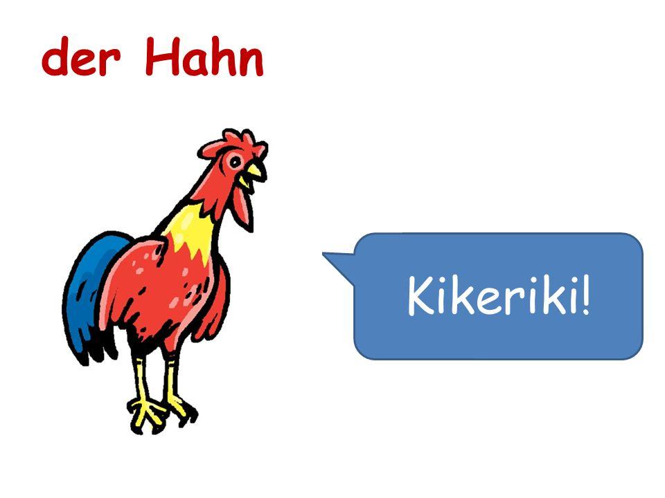Kikeriki! der Hahn