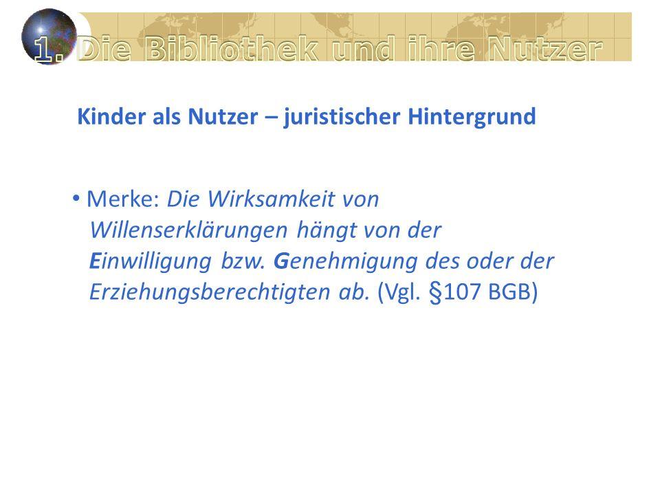 Bibliothek im Web 2.0 1.Weisungsrecht des Trägers 2.