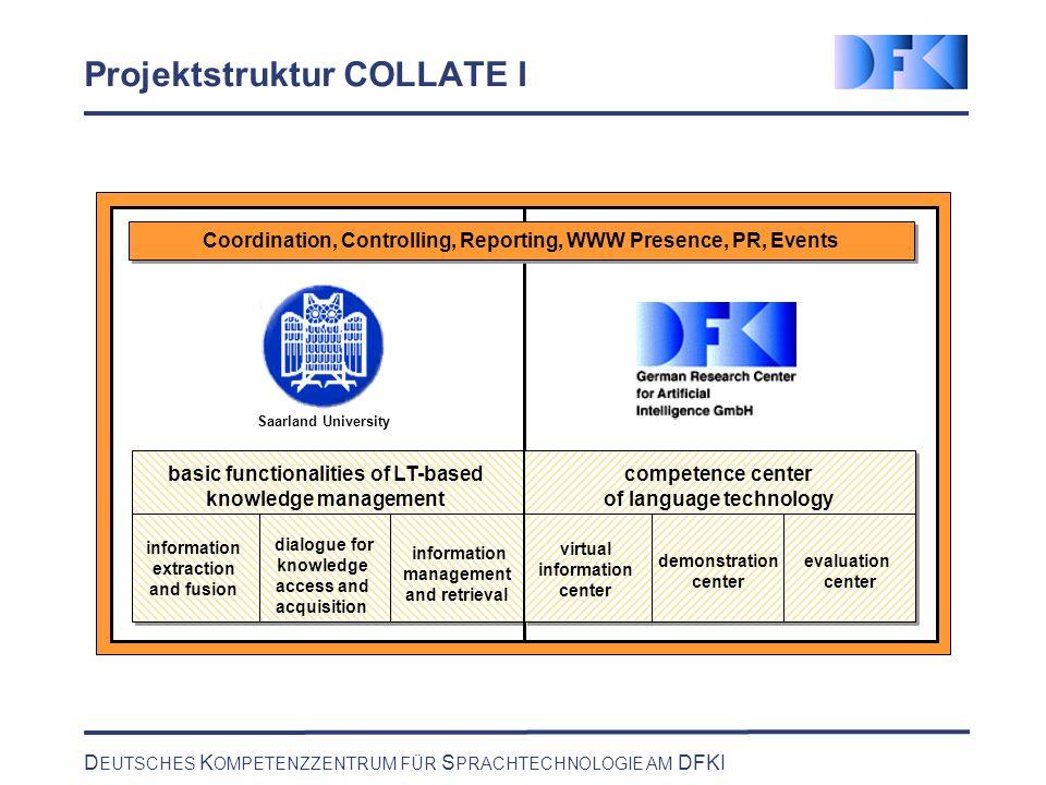 D EUTSCHES K OMPETENZZENTRUM FÜR S PRACHTECHNOLOGIE AM DFKI Strengthening the Center Computational Psycholinguistics (in Comp.