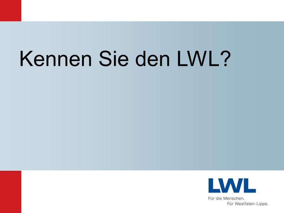 Allgemeiner Vertreter / LWL-Kämmerer Matthias Löb LWL-Direktor Stabsstellen Dr.