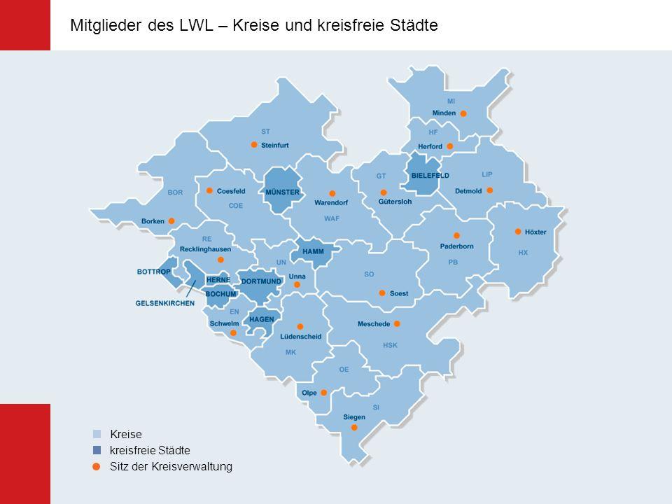 Maßregelvollzug 6 LWL-Kliniken für Forensische Psychiatrie: Lippstadt, Marsberg, Stemwede, Dortmund, Rheine, Herne