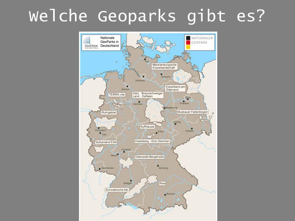Welche Geoparks gibt es?