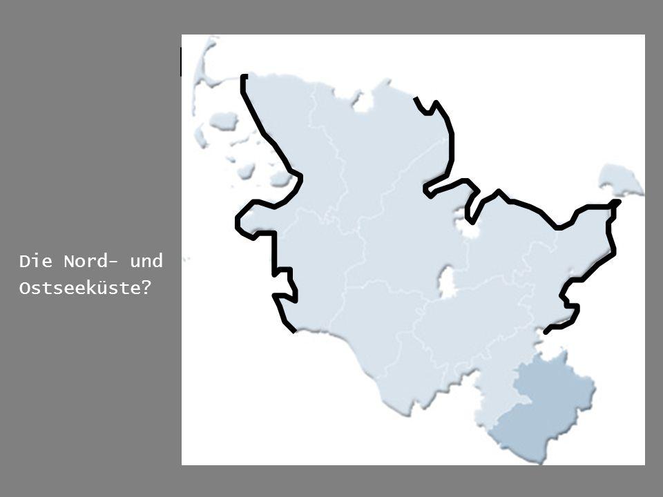 Karte der Region Die Nord- und Ostseeküste?