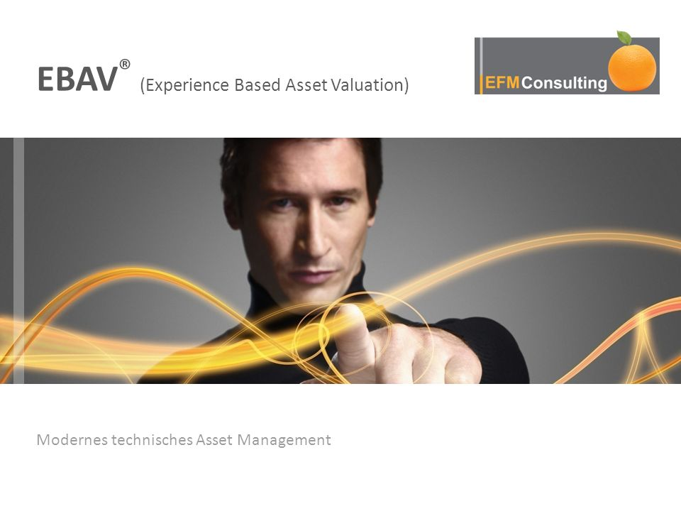 Modernes technisches Asset Management EBAV ® (Experience Based Asset Valuation)