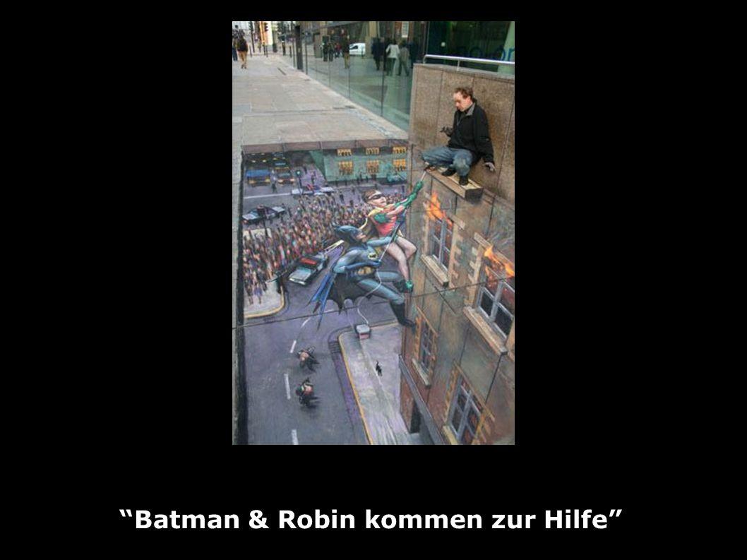 Batman & Robin kommen zur Hilfe